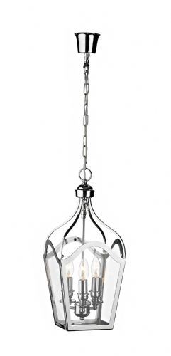 Duke 3-light Clear Glass Ceiling Light DUK0150